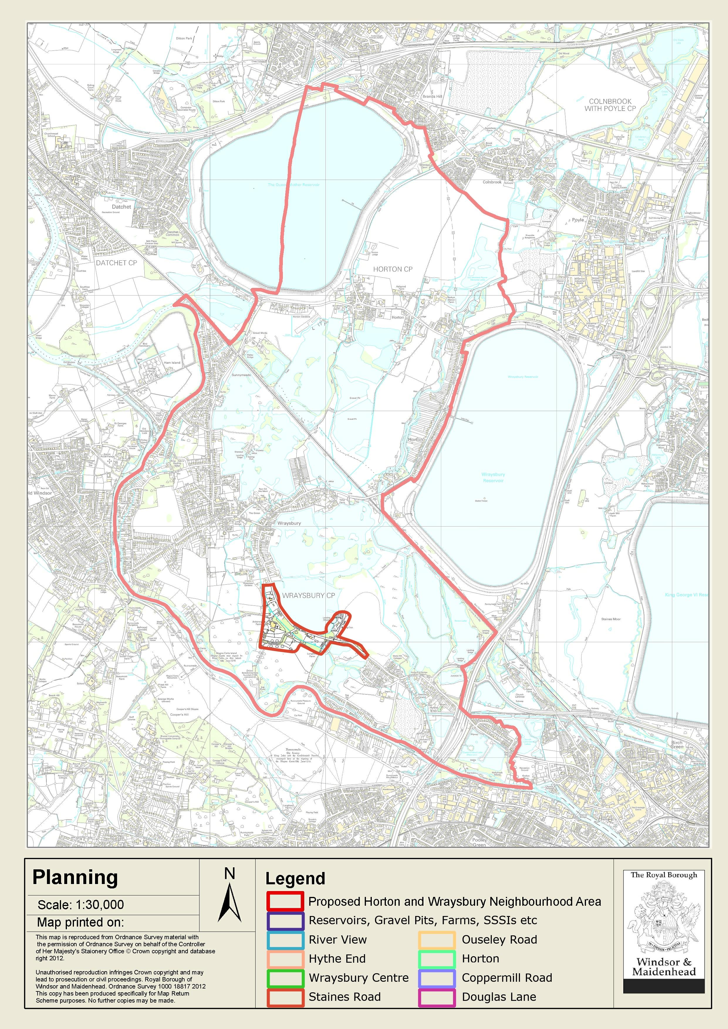 Horton and Wraysbury Neighbourhood Plan Additional Docs